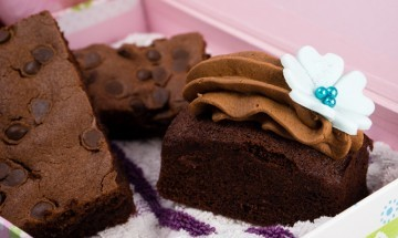Mochalicious with Chocolate Orange Brownies