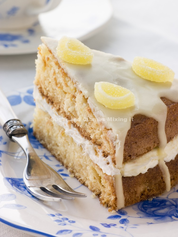 No Butter Lemon Drizzle Cake