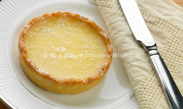 Luscious lemon tart