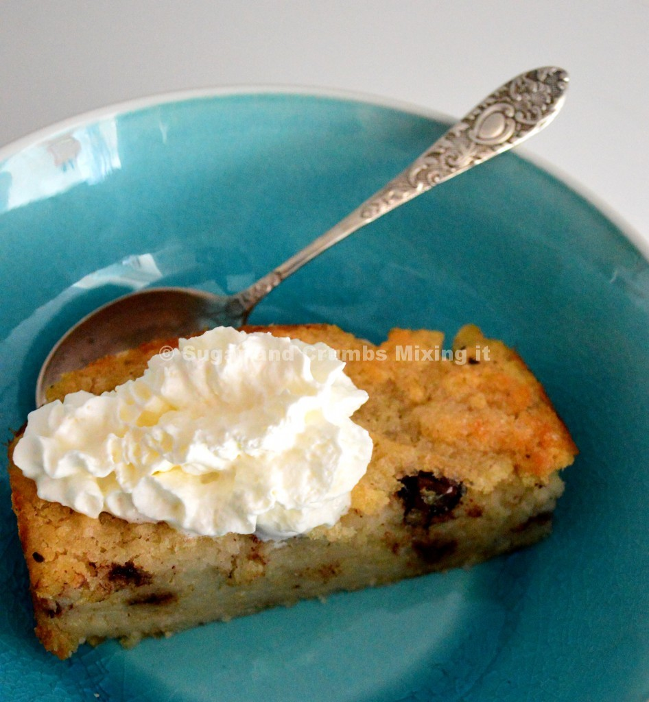 Chocolate & Salted Caramel Bread Pudding - Sugar and Crumbs Recipe
