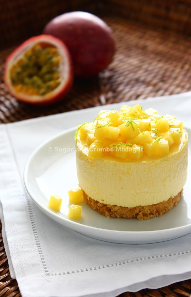 Mango and Passion Fruit Mousse