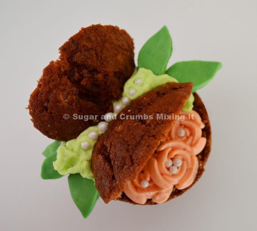 Chocolate Coconut Butterfly Buns
