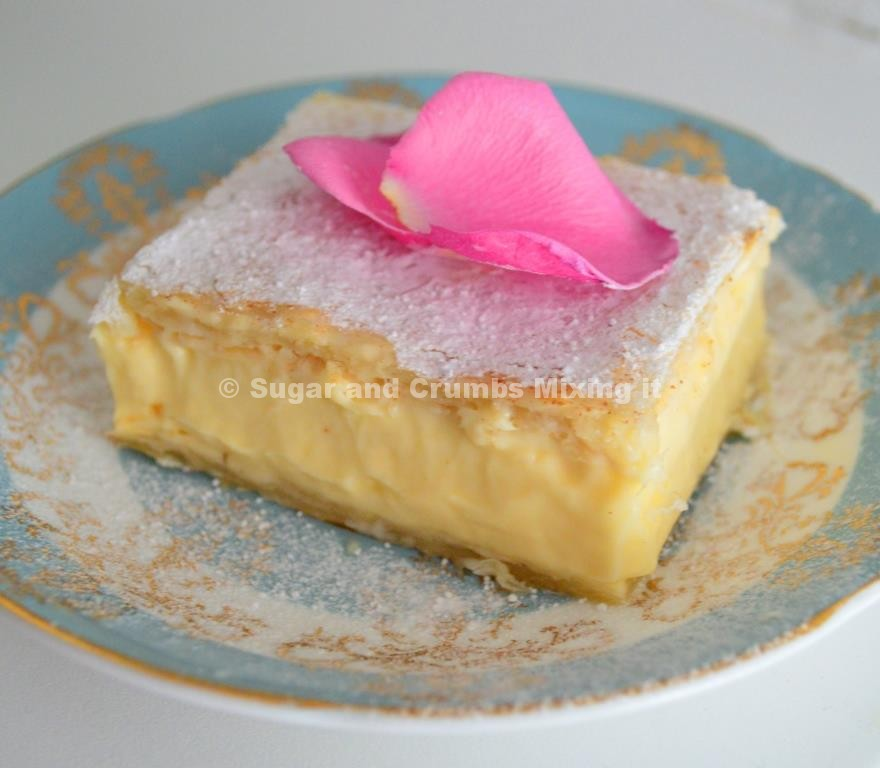 Banana Custard Slices