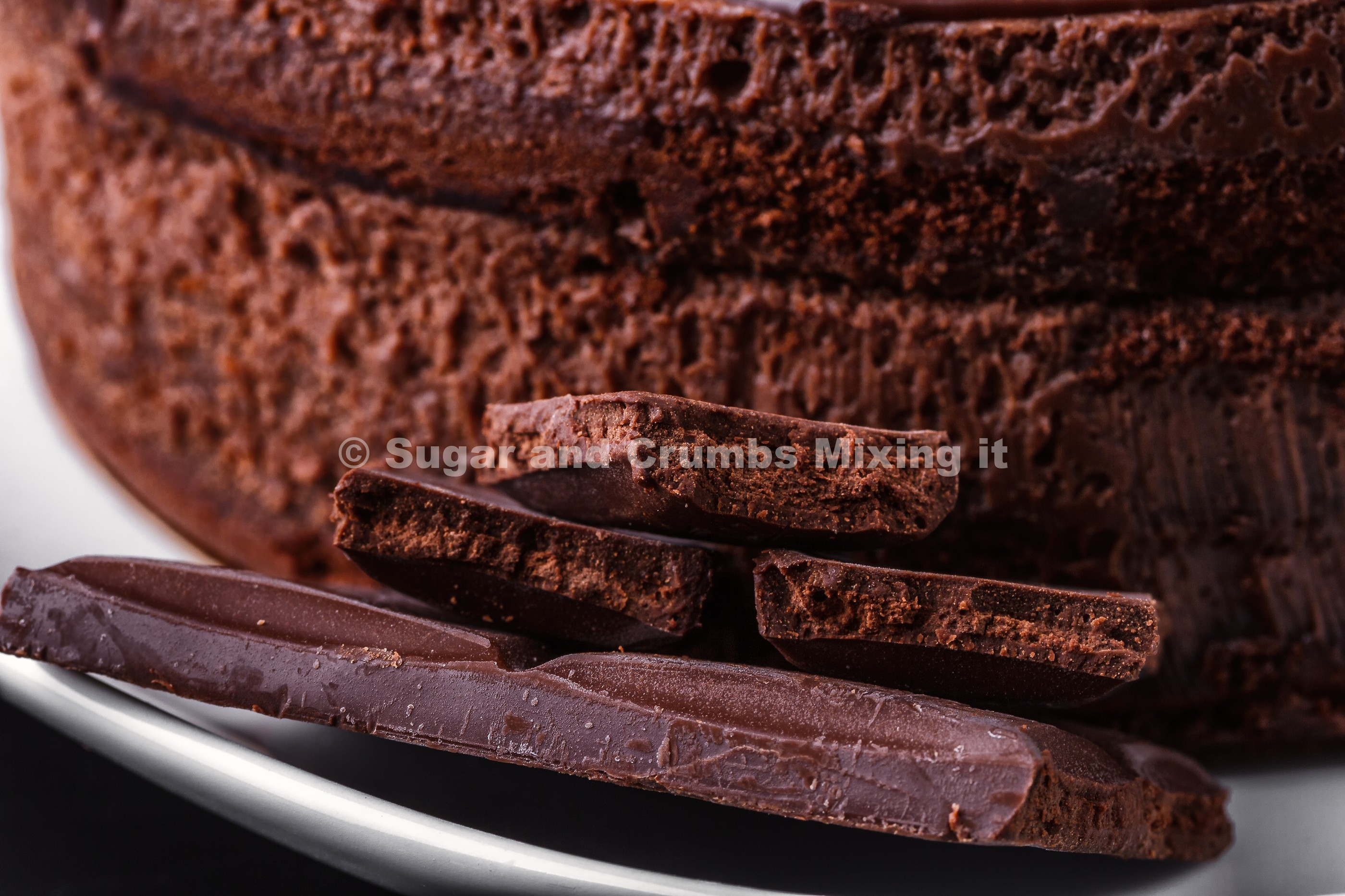 Easy Chocolate Sponge Cake