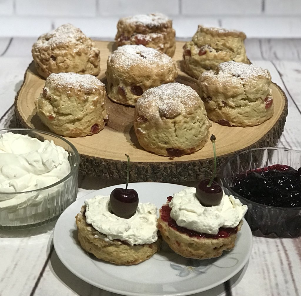 Black Cherry Scones