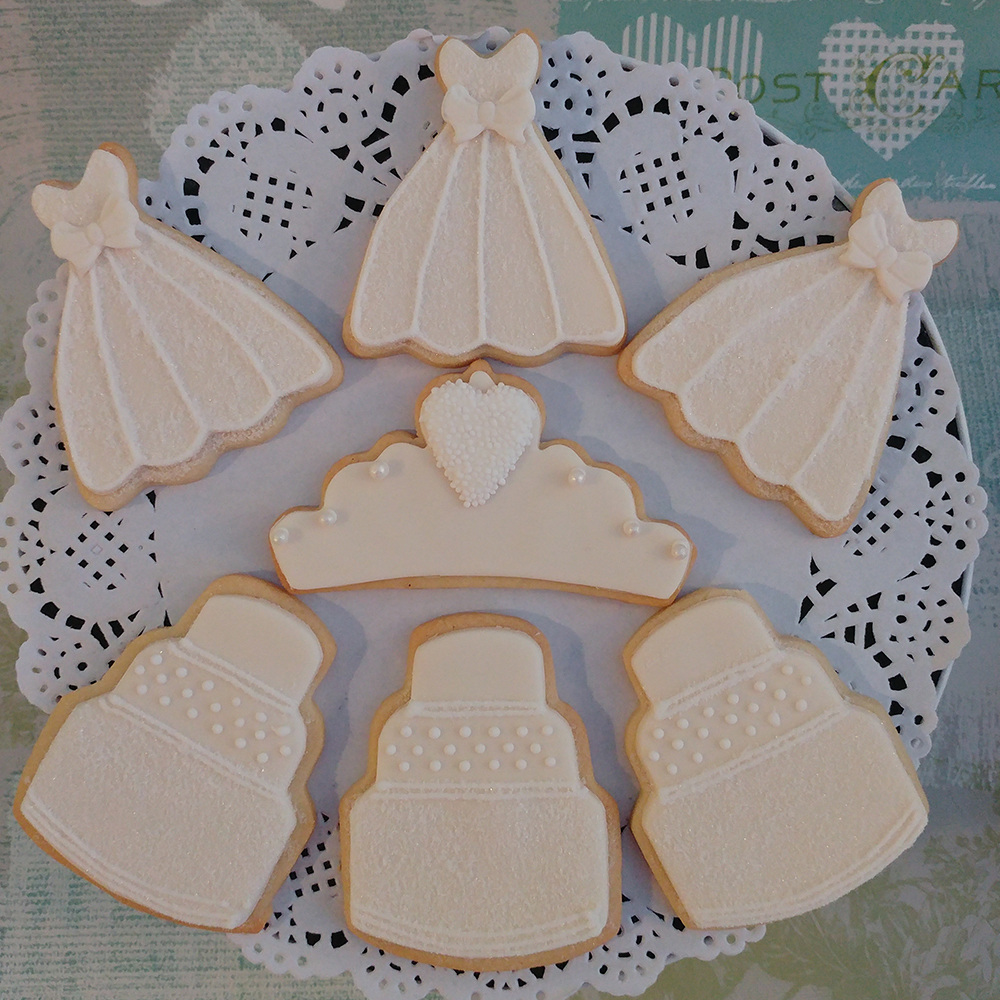 Iced Wedding Biscuits