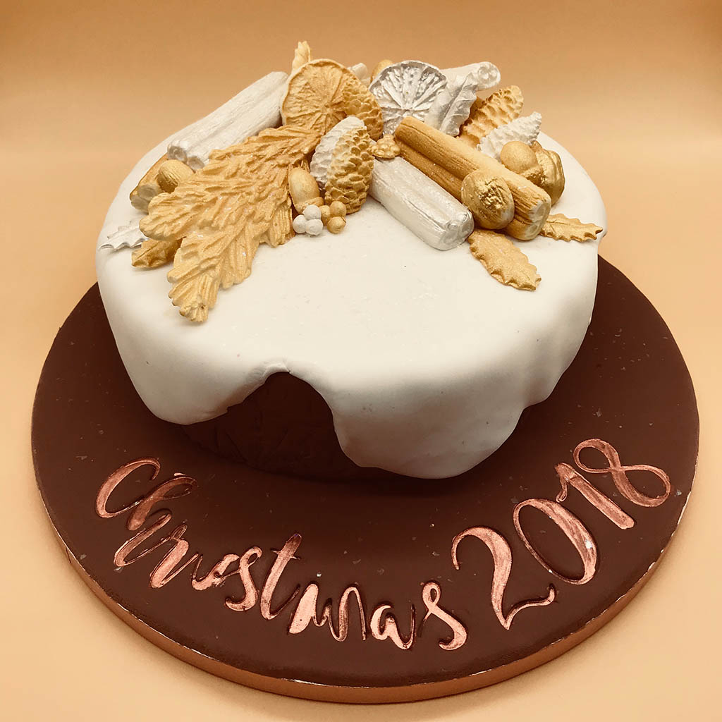 Easy Christmas Cake Gluten Nut and Alcohol Free