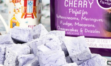 Black Cherry Marshmallows