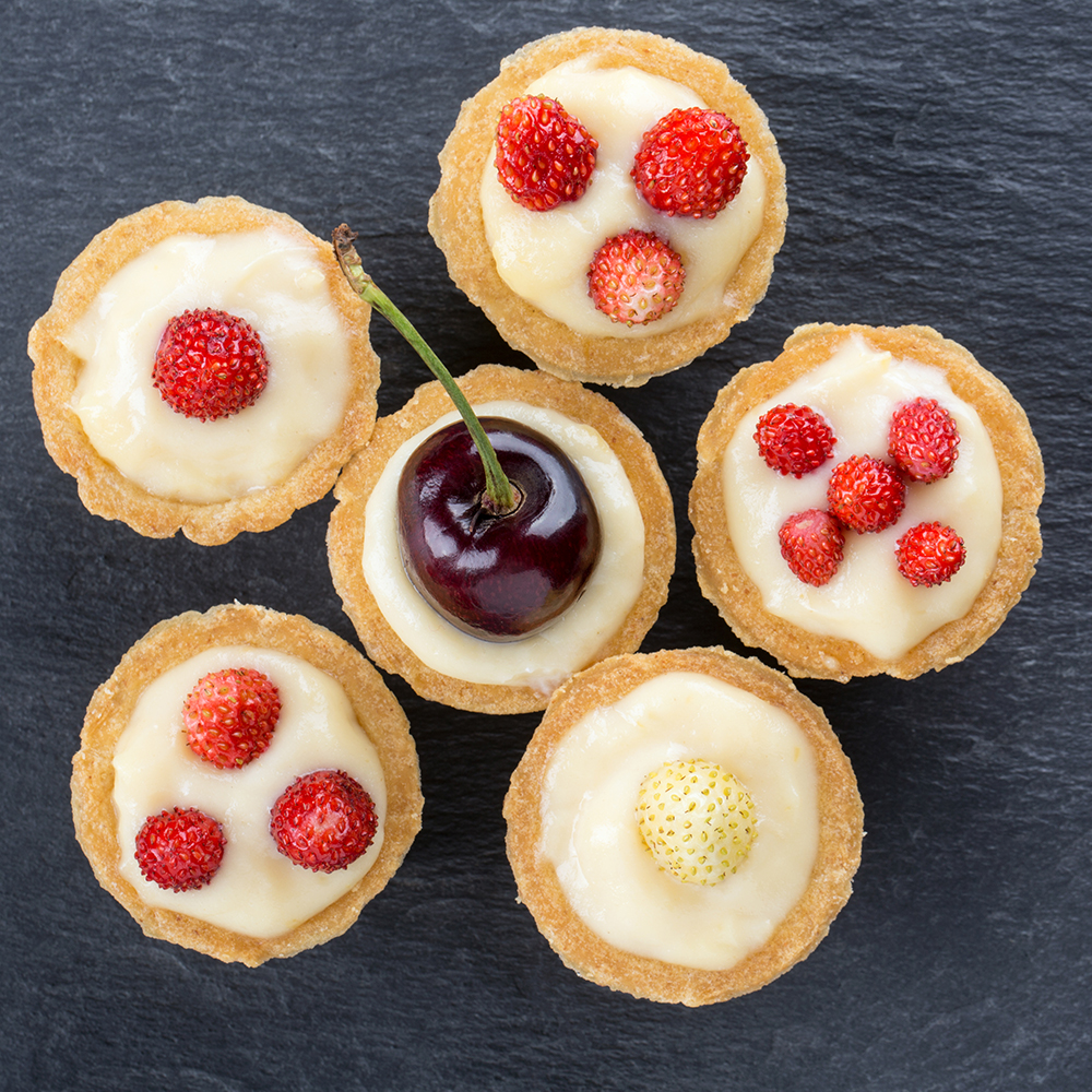 Mini Cherry Tarts